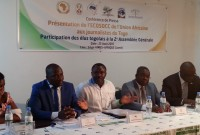 Togo represented at the continental level has the ECOSOCC by NGOs like-Africa
