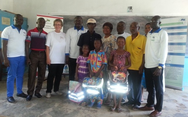 Launch of the ' VILLAGES of AIMES-AFRIQUE ' project in the town of KUMA APOTI.