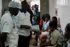 collaboration entre AIMES AFRIQUE et les équipes de soins locales pour la bonne prise en charge des patients