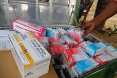 kit pharmaceutique à distribuer gratuitement