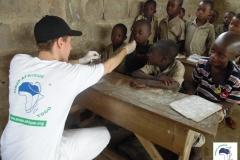 déparasitage des enfants dans les milieux ruraux