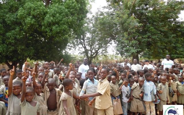 """Project """"Villages helfen Afrika"""": die drei besten Studenten im Rampenlicht"""