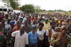 engouement de la population sur le site du CMS Temedja