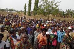 la population attentive au message de AIMES AFRIQUE