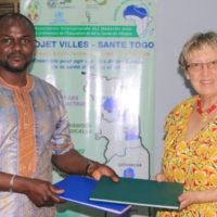 Convention de partenariat : AIMES-AFRIQUE et Aktion Pit Togohilfe renouvellent leur engagement pour la promotion de la santé, de l'éducation et du développement en milieu rural