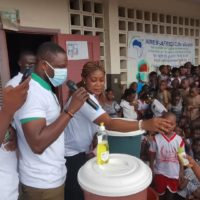 AIMES AFRIQUE Côte d'Ivoire sensibilise sur l'hygiène bucco-dentaire